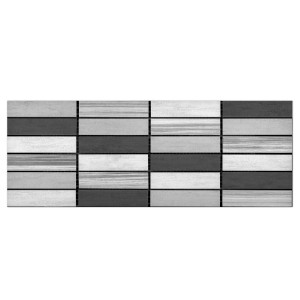 Wall Tiles Decor Skyros Light Grey 20x40cm
