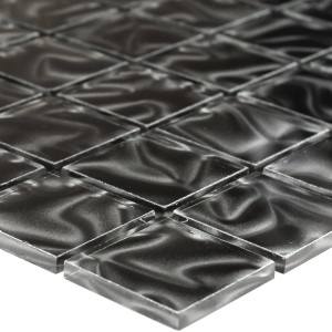 SAMPLE Mosaic Tiles Glass Calypso Black