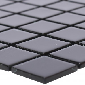 Glass Mosaic Tiles Florida Black