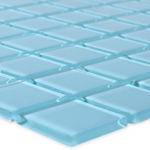 Glass Mosaic Tiles Florida Light Blue