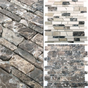 Mosaic Tiles Marble Havel Brick