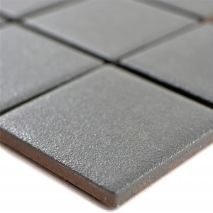 Ceramic Mosaic Tiles Shalin Non-Slip R10 Grey Q48