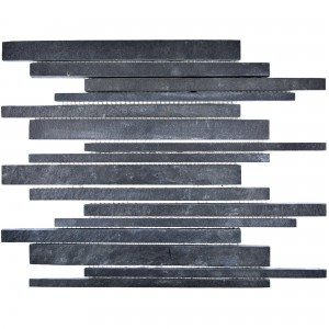 Mosaic Tiles Natural Stone Lyra Slate Black