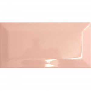 Metro Wall Tiles Colombo Pink 10x20cm