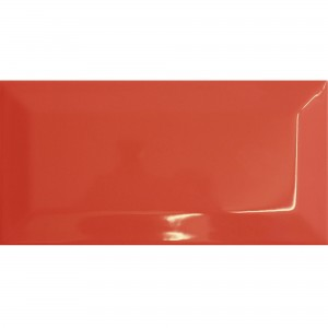 Metro Wall Tiles Colombo Red 10x20cm