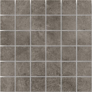 Mosaic Tiles Oregon Grey Brown Square