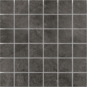 Mosaic Tiles Oregon Anthracite Square