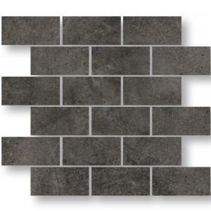 Mosaic Tiles Oregon Anthracite Rectangle