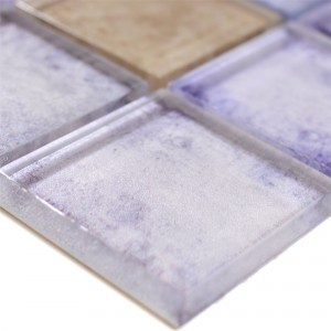 Glass Mosaic Tiles Clementine Blue