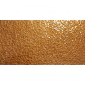 Metro Glas Wall Tiles Subway Copper Corrugated 7,5x15cm