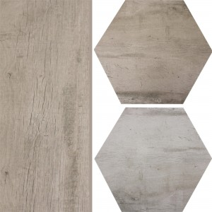Floor Tiles Lonicera Wood Optic Hexagon 52x60cm