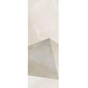 Wall Tiles Queens Rectified Sand Decor 8 30x90cm