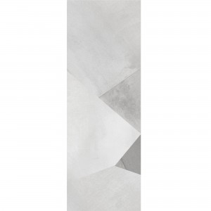 Wall Tiles Queens Rectified White Decor 3 30x90cm