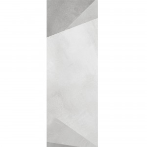 Wall Tiles Queens Rectified White Decor 6 30x90cm