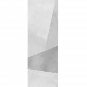 Wall Tiles Queens Rectified White Decor 9 30x90cm