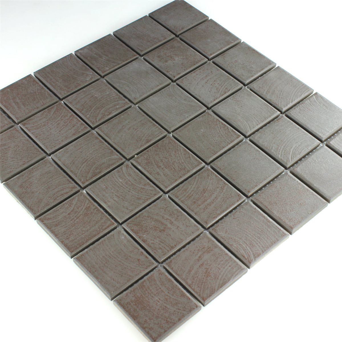 Ceramic mosaic tiles non slip brown structured mosafil mosaic tiles ceramic non slip brown structured dailygadgetfo Images