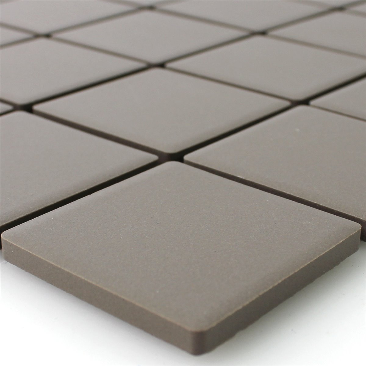 Ceramic mosaic tiles grey uni non slip unglazed tm33347 mosaic tiles ceramic grey uni non slip unglazed dailygadgetfo Images