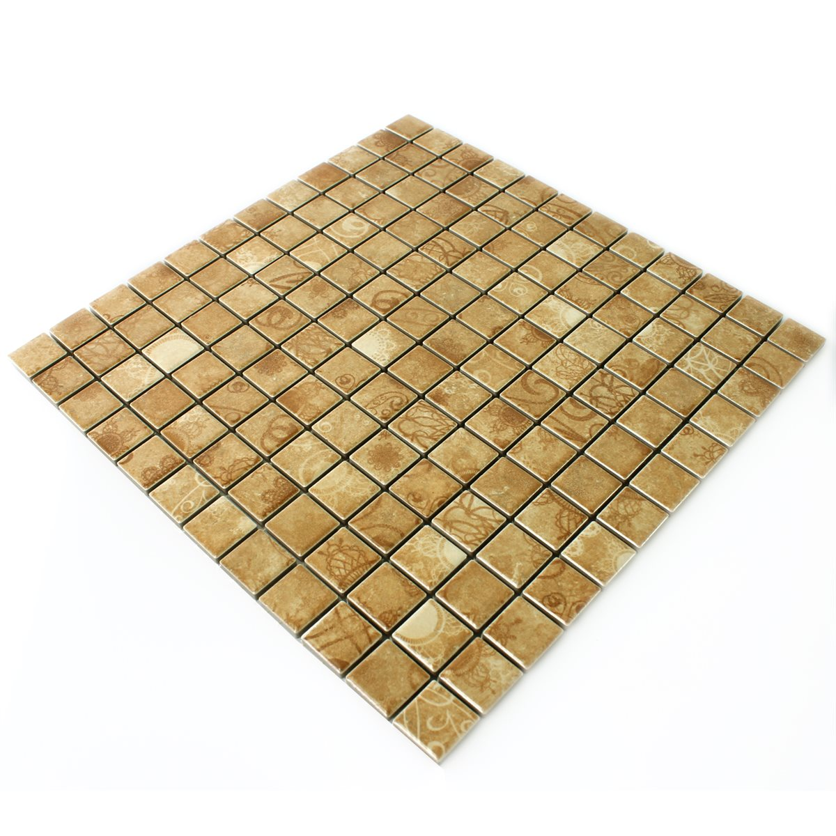 Ceramic Mosaic Tiles Laceo Beige Tm33351