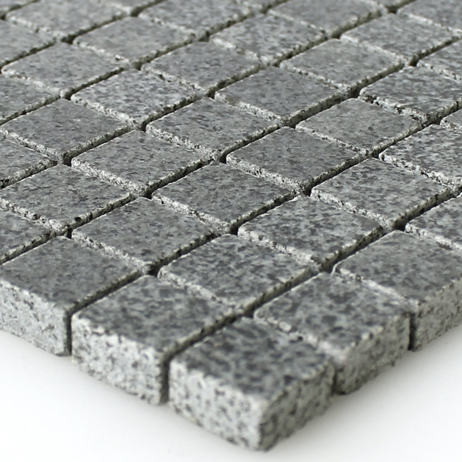 Mosaic Tiles Granit Anthracite 15x15x8mm